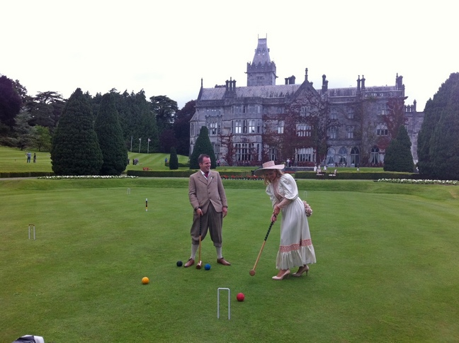 Adare Manor Croquet period costume