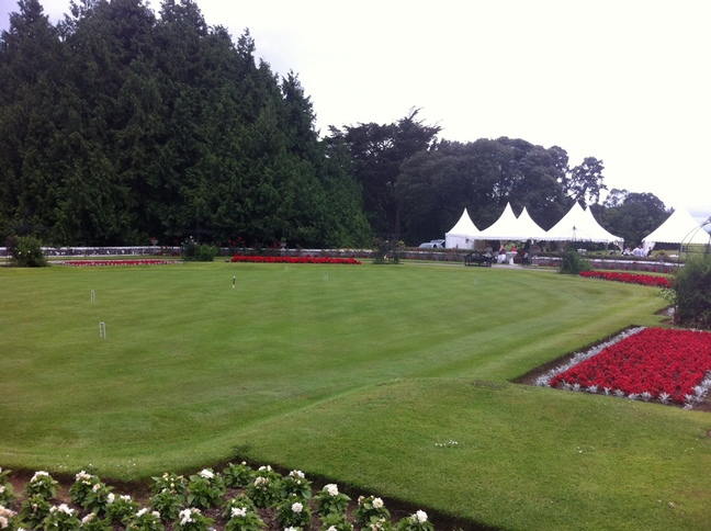 Adare Manor Croquet Lawn