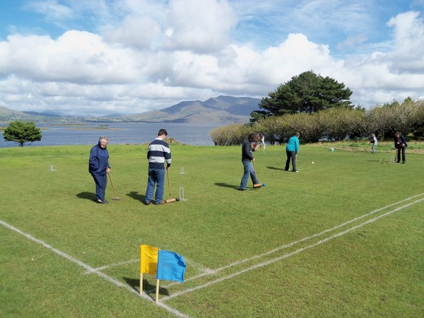 Play at Waterville Lake Croquet Society